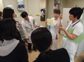 タイ シーマハサラカム看護大学研修の見学受け入れ
