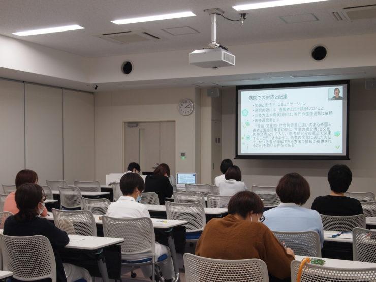 「看護師のグローバル人材育成」研修